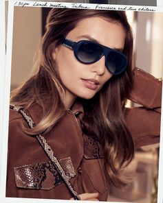 Tod's eyewear collection as seen on beautiful Andreea Diaconu for the SS17 Campaign. Discover the whole Collection at tods.com/tods-eyewear.  #Tods #eyewear #SS17 #AndreeaDiaconu