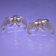 Edward Gorey Bats Cufflinks - shopPBS.org