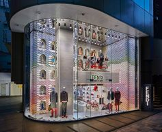 The Fendi boutique in Omotesando got a new update and is ready for Fall - drop by or see more on Fendi.com
