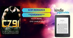 Enter email and download bestselling Scifi Romance ebooks and enter to win a Kindle Paperwhite ereader
