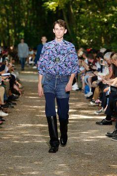 Balenciaga Men Spring Summer 18  Look 16