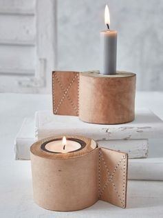 Leather home decoration