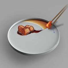 Oiless Plate by Hongfeng Ni #Design