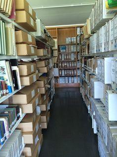 ARCHIVOS PERSONALES, en la Planta 1ª de la Biblioteca General y de Humanidades. Campus de Guajara. Universidad de La Laguna.