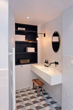 Petite salle de bains design