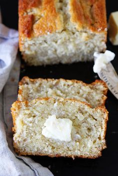 You have to try this Banana Bread Recipe with Buttermilk. Bananas and buttermilk were meant to be friends and they team up nicely in this buttermilk banana bread. It's so moist and yummy, it's sure to be a family favorite.