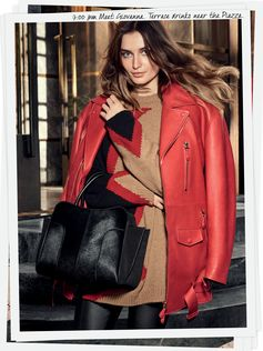 The eye-catching style of the Tod's woman on the go: Andreea Diaconu in the new #Tods #ADV Campaign. #TodsStory #TodsSellaBag #AndreeaDiaconu ... Photographer Mikael Jansson, Creative Direction Fabien Baron, Stylist Ludivine Poiblanc, MakeUp Artist Mark Carrasquillo, Hair Stylist Eugene Souleiman