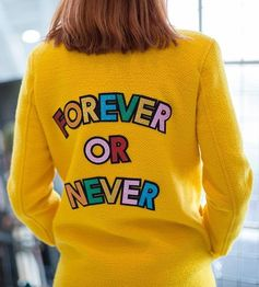 Your AW17 fashion ultimatum in the form of Mira Mikati's coat. Find the statement-making piece on Farfetch now.