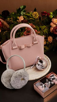 Get your hands on Ted Baker's holly-jolly handbag haul. Shop gifting.