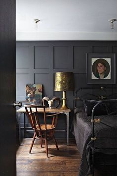wood panel color - Railings by Farrow & Ball