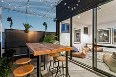 The new kid on the block. This new two storey display home packs a punch with featured archways, voids and a rooftop bar.