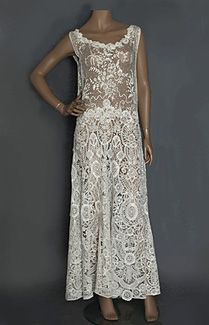 1920s lace tea dress - absolutely gorgeous!