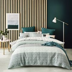 Home Republic Ospery Quilt Cover, doona covers, bedlinen