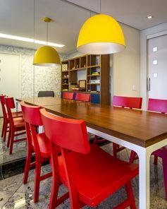 Apartamento Chácara Klabin -  Sala de Jantar Projeto - Enzo Sobocinski Arquitetura
