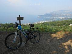 View from Il Deserto monastery, Sant'Agata Sui Due Golfi.