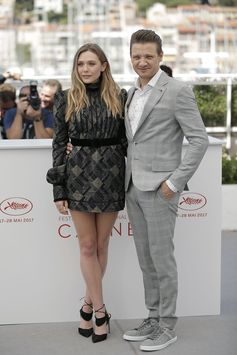 The effortless style of Jeremy Renner at Cannes with his Tod's Sneakers. #Cannes2017 #Cannes #TodsSneakers