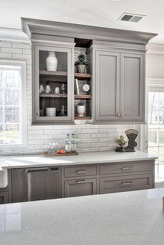 Gray Inspiration Kitchen Tour