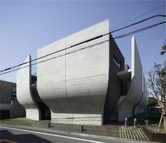 This home is in Setagaya, Tokyo, designed by Artechnic.
