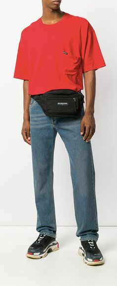 Balenciaga Droopy Short Sleeve T-shirt