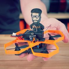 3D print a micro drone! New article and video at prusaprinters.org 🙂 #prototyping #toysandgames #prusai3 #prusamini