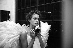 Amber Valletta by Peter Lindbergh, 1993