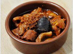 Callos a la madrileña. Una receta tradicional de Madrid.
