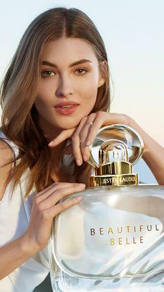 Break a glass. Break with tradition. Break hearts. Meet our new fragrance, Beautiful Belle. #LoveBreaksAllRules