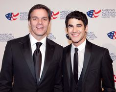 American journalist Bill Hemmer & Singer and Actor Darren Criss