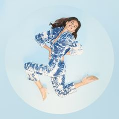 @KaiaGerber 🌊 stars in the new #StellaSummer19 campaign, wearing our organic cotton tie-dye jumpsuit.  The images celebrate the women of today and tomorrow, framed in circles that represent life, femininity and the hope for a sustainable circular economy.  Collection coming soon to stores and StellaMcCartney.com