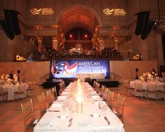 The American Australian Association Benefit Dinner.
