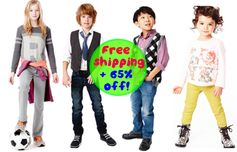 RUUM:  FREE Shipping + up to 65% off = AWESOME Deals on Kids Clothes, Shoes & Accessories!