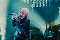 The National playing at Primavera Sound 2018.  Photo by Kimberley Ross.