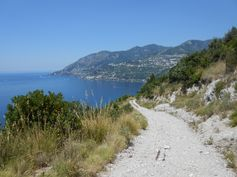 Some MTBing in Capo d'Orso, above Maiori.