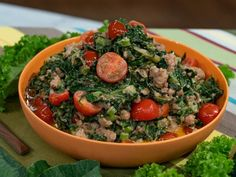 Get Sunny's Sausage Creamed Collards Recipe from Food Network