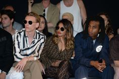 Jamie Campbell Bower, M.I.A. and Bakar at the Fendi Men's Spring/Summer 2019 Fashion Show.