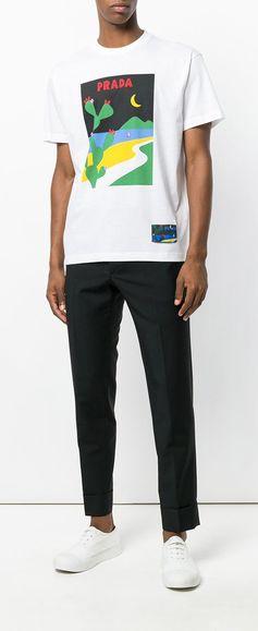 Prada Slim Tailored Trousers