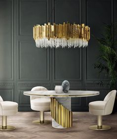 Let your imagination and inspiration sparkle to the light of these amazing lamps. The best designers and decorating ideas! #lightingdesign #lampdesign #luxurydesign