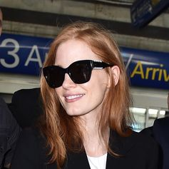 Portrait of style: Jessica Chastain and her Tod's eyewear. #TodsFavorites #Tods #eyewear #JessicaChastain