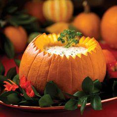 Baked pumpkin cheese dip recipe