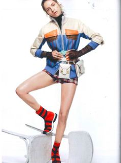 Balance it out.  Fendi spotted in AMICA, May, 17.