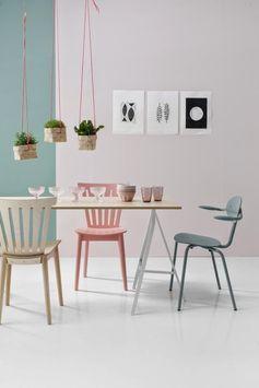 Une salle à manger entièrement pastel qui nous inspire