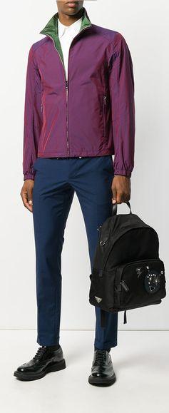 Prada High-Neck Zip Jacket