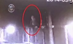 Humanoid caught on security camera in Russia