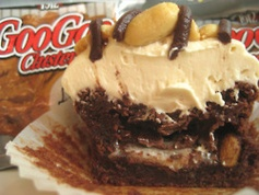 Here's a recipe from the archives (in honor of my upcoming trip to Nashville, TN, home of the Goo Goo Cluster): Goo Goo Cluster Brownies with Caramel Marshmallow Frosting!