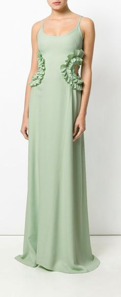 Nina Ricci Cut Out Detail Gown