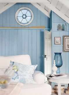 beachy bedroom love the little window