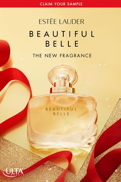 Claim Your Free Sample! Be unforgettable this holiday season with Estée Lauder's newest fragrance, Beautiful Belle—an unexpected and sparkling blend of Rose, Gardenia, Lychee, and Marzipan Musk notes. Available now in-store and online at Ulta Beauty.