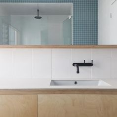 "Dan Gayfer Design on Instagram: ""Bathroom at #highhouse in Fitzroy North, we're…"