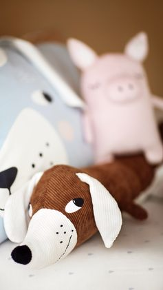 H&M HOME | Sausage dogs and perfect piggies — these cute cuddlies are looking for a new home.