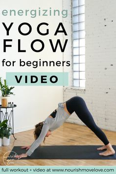 8 energizing yoga poses for beginners  nourish move love